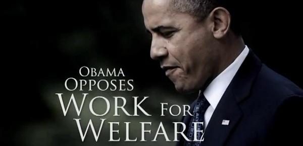 Romney Attacks Obama on Work for Welfare Romney Attacks Obama Again Over Work for Welfare