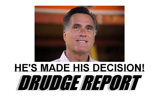 Romney VP Choice Has Mitt Romney Selected His Vice President?