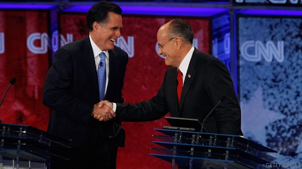 Romney and Giuliani President 2012: Mitt Romney and Rudy Giuliani Team Up on Bin Laden Anniversary Date