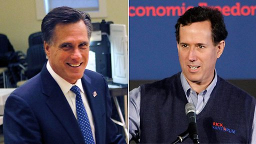 Romney and Santorum3 The Morning Flap: March 8, 2012
