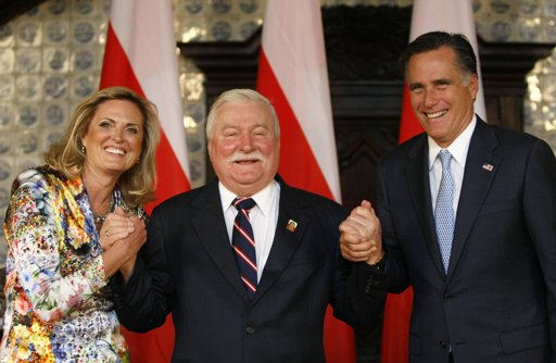 Romney and Walesa The Afternoon Flap: July 30, 2012