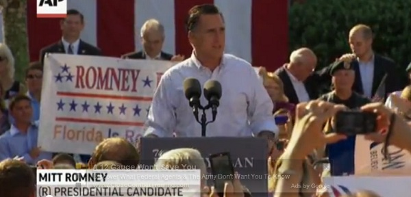 Romney in Florida Romney in Florida Attacks Obama on Medicare