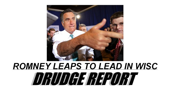 Romney leaps to poll lead in Wisconsin The Morning Flap: June 13, 2012