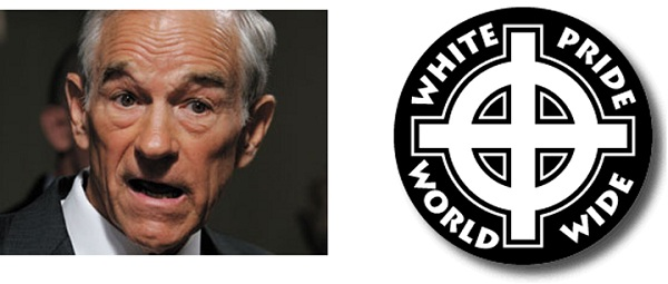 Ron Paul and White Pride1 Ron Paul Watch: AIDS Patients and Sexual Harassment   Oh My!