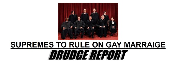 SCOTUS and Gay Marriage SCOTUS To Hear Gay Marriage Cases