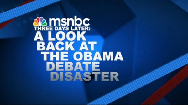 SNL Mocks MSNBC Video: SNL Mocks MSNBCs Reaction to Obamas Disastrous Debate Performance
