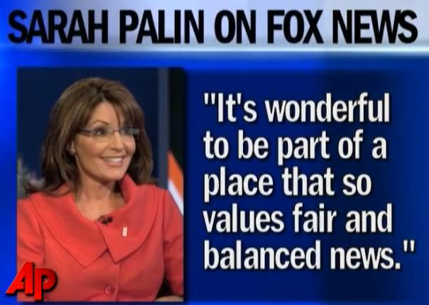 Sarah Palin and Fox News Sarah Palin Out At Fox News Channel