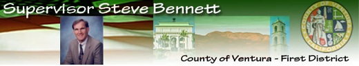 Steve Bennett CA 26: Ventura County Supervisor Steve Bennett Out as Candidate for Congress
