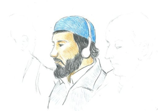 Terrorist sketch Two Convicted in Norway of Terror Plot Against Jyllands Posten Newspaper Which Published the Muhammad Cartoons