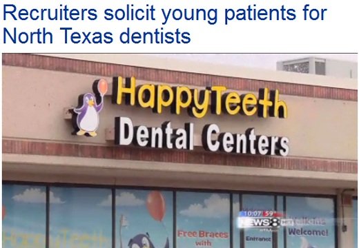 Texas Dental Medicaid Recruiters Recruiters Solicit Young Patients for Texas Medicaid Dentists Outside Food Stamp Offices