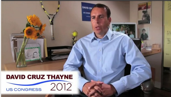 Thayne CA 26 Video: David Cruz Thayne Releases First Online Ad