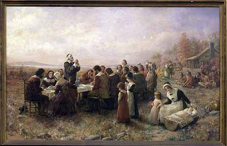 The First Thanksgiving Wishing You a Happy Thanksgiving: November 27, 2014
