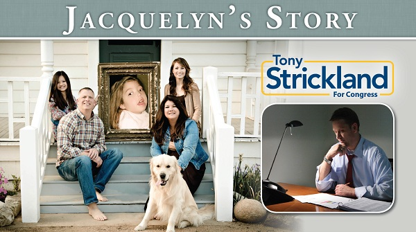 Tony Strickland Mailer CA 26: Tony Strickland Goes Positive in Political Mailer