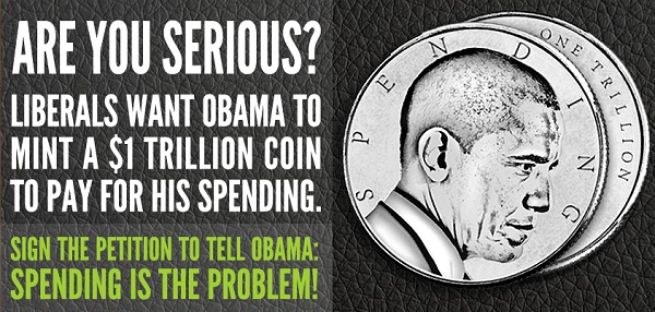 Trillion dollar coin NRCC Mocks Democrats Over Trillion Dollar Coin
