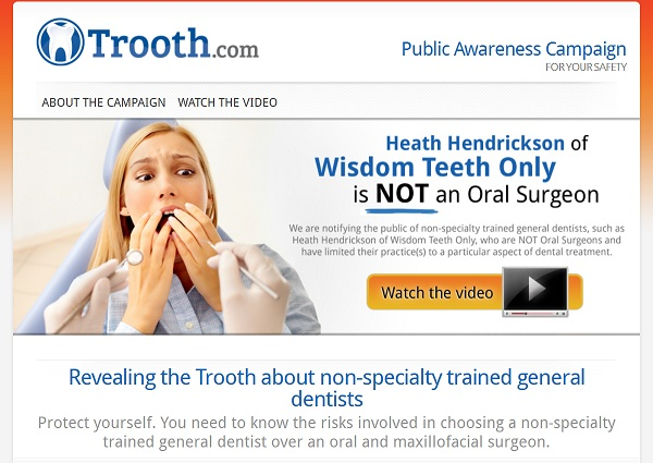 Trooth Website Trooth.Com: The Dr. Wisdom Teeth Radio Ad