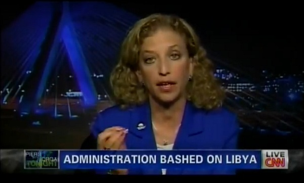 Wasserman Schultz and Libya DNC Chair Wasserman Schultz Says Wrong Statements About Libya Doesnt Mean They Were False