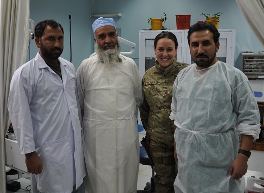 air force dentist American Dentist Maj. Courtney Schapira Plays a Vital Role in Afghanistan