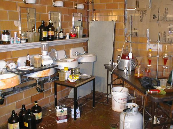 methamphetamine laboratory Methamphetamine Lab Cleanup is Big Environmental Business