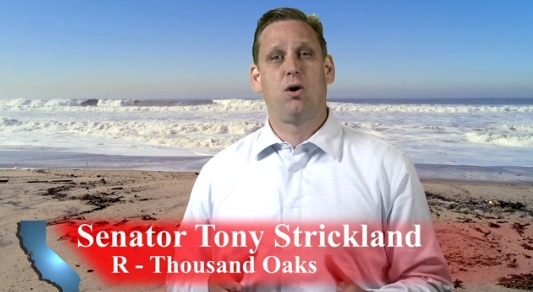 tony strickland beach cleanup CA 26: Tony Strickland to Host Coastal Clean Up