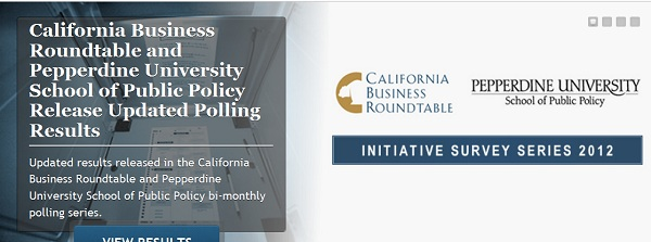 CBRT Pepperdine University Polling Website Screencap