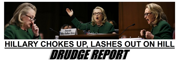 Hillary Clinton appears in Senate