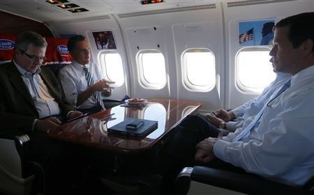 Jeb Bush and Romney
