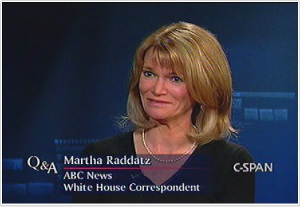 Screencap of Martha Raddatz of ABC News