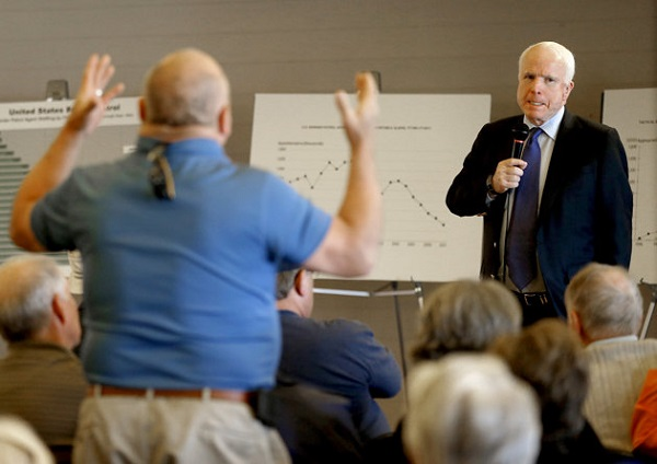 McCain Defends Immigration amnesty
