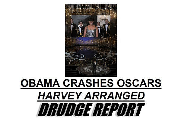 Obama Crashes the Oscars