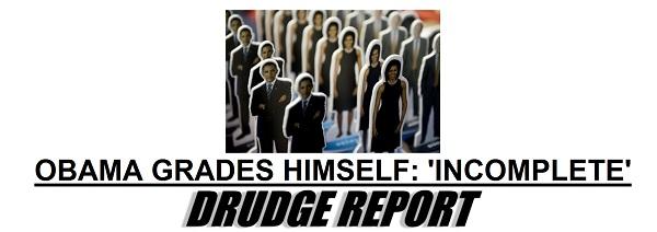 President Obama gives himself a grade