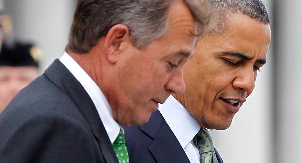President Obama and House Speaker Boehner
