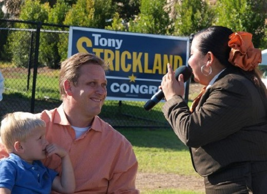 Congressional candidate Tony Strickland