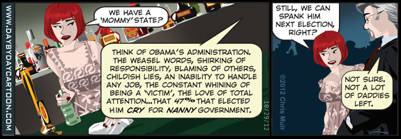 Day By Day cartoon for October 29, 2012